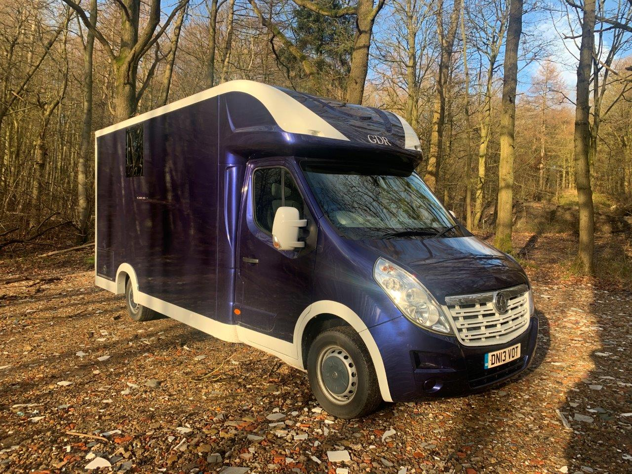 Pre-Owned Vauxhall Movano GDR Horsebox 3500kg