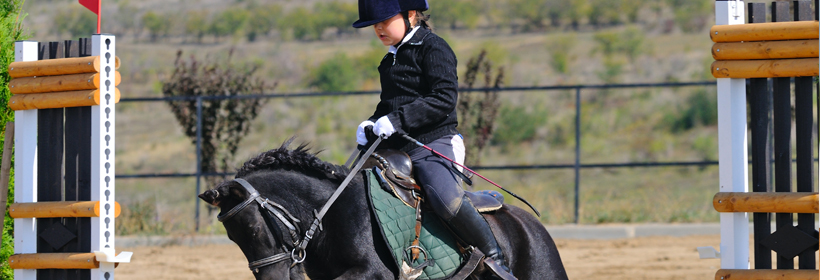 Child Show Jumping