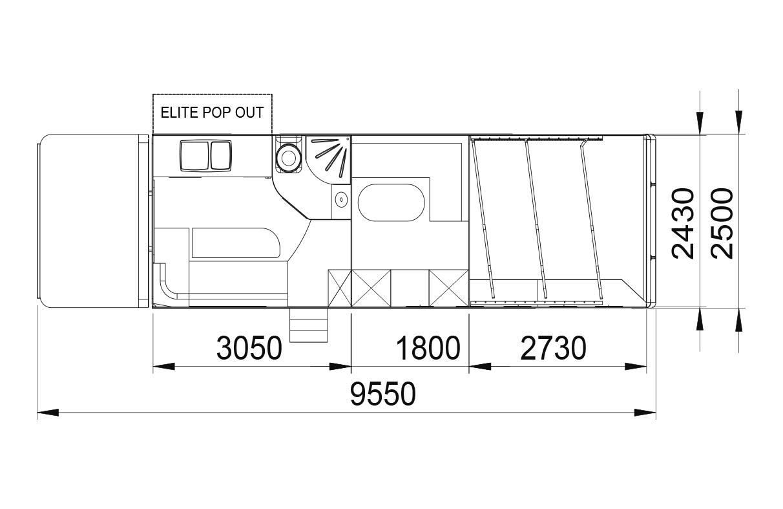 Envoy 2/3 stall layout