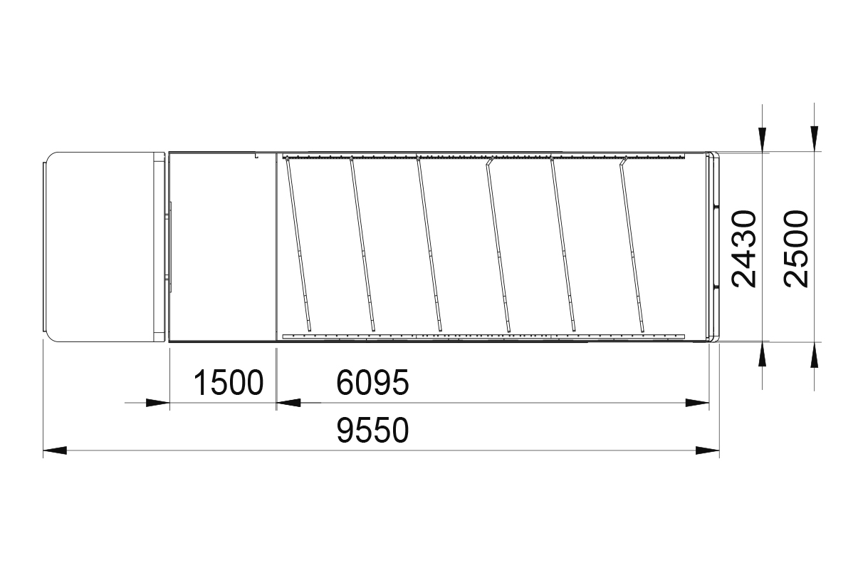 Envoy transporter layout