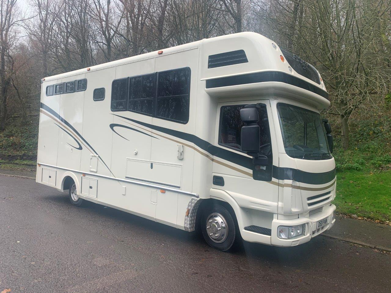 Pre-Owned Iveco Horsebox 7500kg