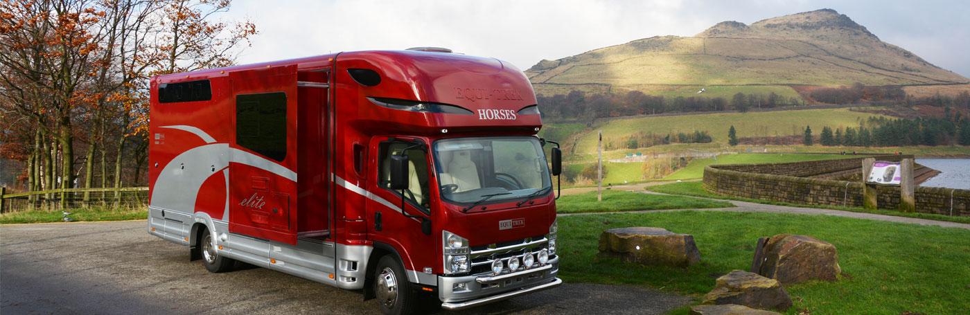 Open Backed Horse trailer
